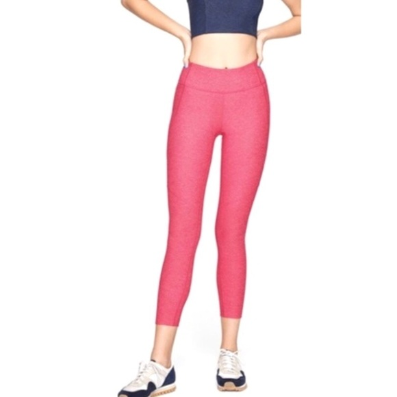 Outdoor Voices Pants - NEW Outdoor Voices Warm Up Crop Leggings XL